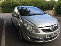 Vauxhall Corsa 1.2L clean and tidy
