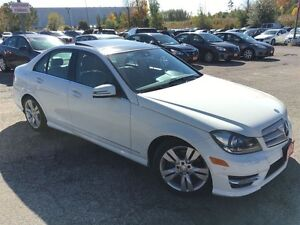 2012 Mercedes-Benz C-Class C300/AWD/NAVI/BACKUPCAMERA/LEATHER/RO