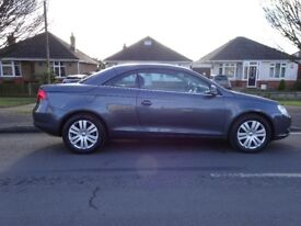 2006 VW EOS 2.0 FSI.90k with service history.P/X possible.