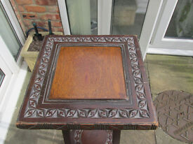 Old Wooden Plant Stand