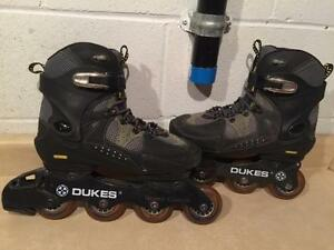 Women's Size 7 Dukes Stalefish Rollerblades