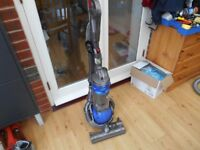 DYSON DC 25 BLUE BALL OVERDRIVE WITH 2 TOOLS IN FULLY WORKING CONDITION,STRONG SUCTION
