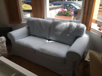 Ikea EKTROP 2 seater sofa ice blue