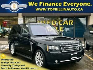 2012 Land Rover Range Rover Supercharged, Fully Loaded, 2 Years