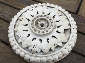 Victorian plaster decorative ceiling rose