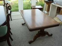 Antique Dining/Coffee Table c 1850 - 1860 shown on Antique Roadshow