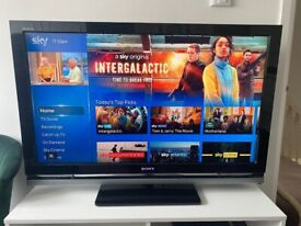 """Sony KDL-40W4000 - 40"""" Widescreen 1080P Full HD Bravia LCD TV - With Freeview"""
