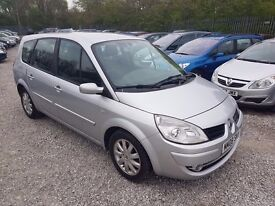 Renault Grand Scenic 1.5 dCi Dynamique, FSH. HPI CLEAR. COMES WITH FULL YEAR MOT. P/X WELCOME