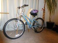Raleigh Heather 18 Speed Girls/Ladies Mountain Bike Excellent Condition