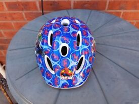 Genuine As New Kids Spiderman Bike Helmet 028