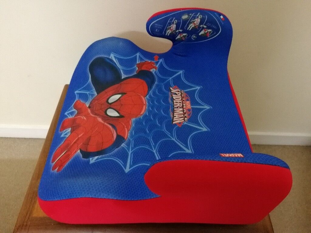 ⏺️Spiderman group 2 /3 car seat booster⏺️
