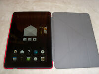 """Kindle Fire HDX 64GB 8.9"""" (3rd Generation) Tablet Computer and Case"""