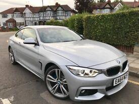 "2014 BMW 420 420i M SPORT AUTO COUPE 18,000 MLS FBMWSH PRO SAT/NAV 19"" ALLOYS PRISTINE CONDITION"