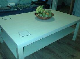 coffee table.light oak
