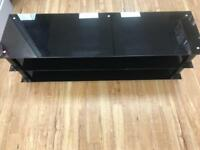 Glass tv stand for up to 65 inch TV