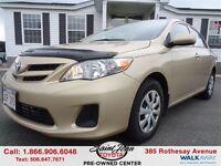 2012 Toyota Corolla CE $113.11 BI WEEKLY!!!