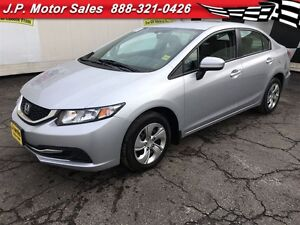 2015 Honda Civic Sedan LX, Automatic Heated Seats, Only 24,000km