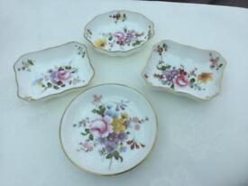 Royal crown derby china 4 items all genuine see back stamps fantastic condition