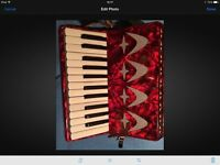 Quality German Galetta 12 bass Piano Accordion. Excellent condition.