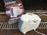 Portable Silent Electric Fan Heater Hot & Cold Thermostat