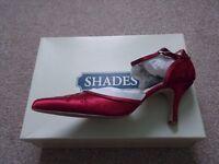 Bordeaux Bridal Shoes