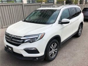2016 Honda Pilot EX-L| Leather, Backup Cam, All-Wheel Drive!