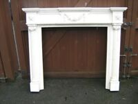 Composite Marble Fire Surround