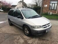 2001 Chrysler grand voyager automatic mot 7 seater