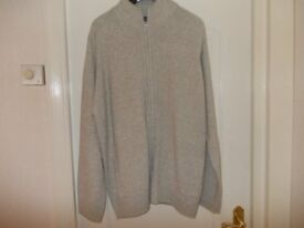 M&S KNITTED MANS CARDIGAN XXL