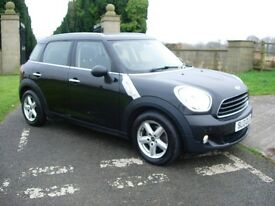 Mini Countryman One D £30 Road Tax 12 months MOT