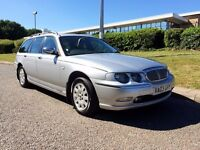 Rover 75 AUTO-Tourer 2.0 CDTi Connoisseur SE, TOP SPEC, 1 OWNER, FULL SERVICE HISTORY, MOT May 2017