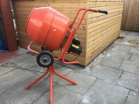 Electric Build Buddy Cement Mixer
