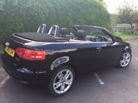 2009 Audi A3 sport TDI Convertible 1 owner full service history low mileage
