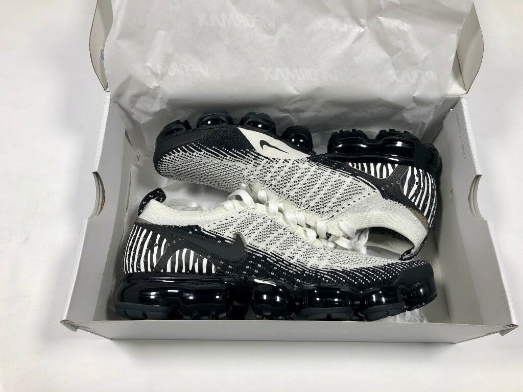 f3a4668a1725 Brand New Nike Air VaporMax Flyknit 2 Zebra Limited Edition UK 8 US 9 SOLD  OUT