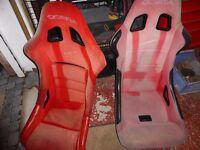 RALLY 2 COBRA RALLY SEATS