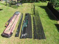 Sensas PowerMatch 675 16m Pole with 604 7.2m Margin Pole