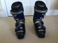 Ski boots Rossignol Elite Bandit B2 black/blue Size 10 UK