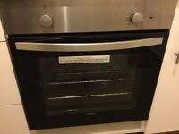 Integrated electric oven. Brand new, never used Lamona Howdens brand.