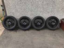 MINI Black 18 Inch Multifit Alloys - R50, R52, R53 Mini One, Cooper, Cooper S