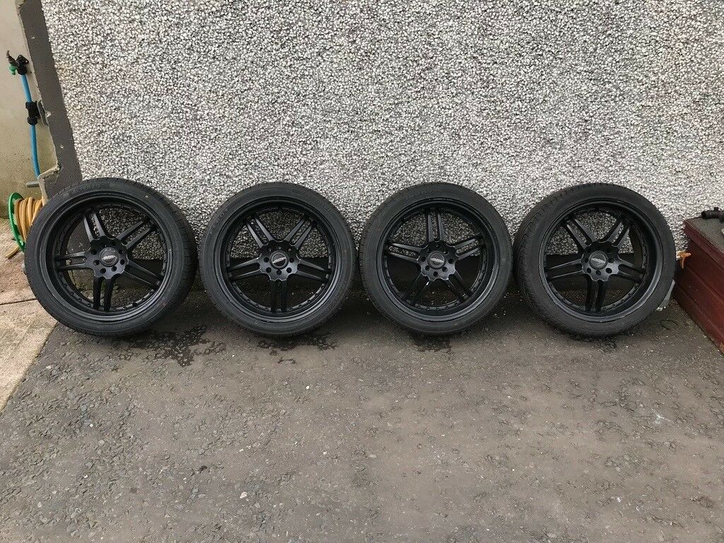 MINI Black 18 Inch Multifit Alloys - R50, R52, R53 Mini One, Cooper, Cooper S