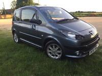 2007 Peugeot 1007 Sport, 1.4 Diesel, long MOT, 60MPG, £30 RoadTax a year!