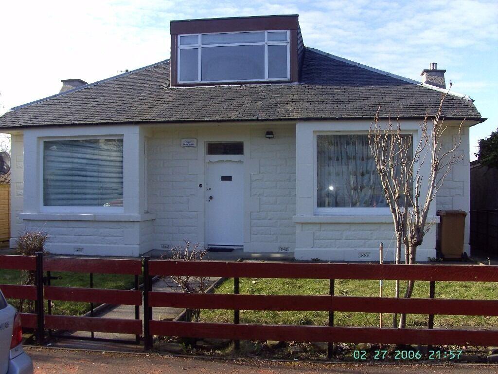 4/5-bedroom detached bungalow - Craiglockhart Quadrant - NO HMO