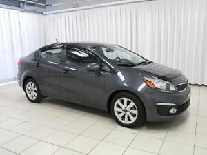 2016 Kia Rio EX GDI SEDAN.  LOW KILOMETERS !!  w/ ALLOY WHEELS,