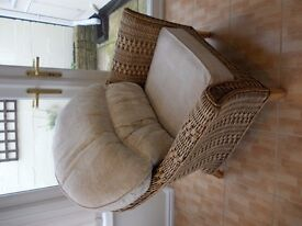 Cane & Wicker conservatory chair,