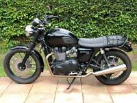 Triumph Bonneville T100 black edition 2015