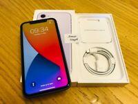 **Excellent Con** Iphone 11, 64GB, Purple, 11 Months Apple Warranty!