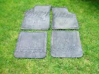 Mk2/Mk3 golf rubber floor mats