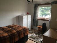 Nice single bedroom available in two bedroom flat