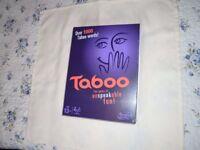 Brand New Taboo Game