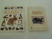 RABBIT BOOKS X 2 (for pet rabbits)